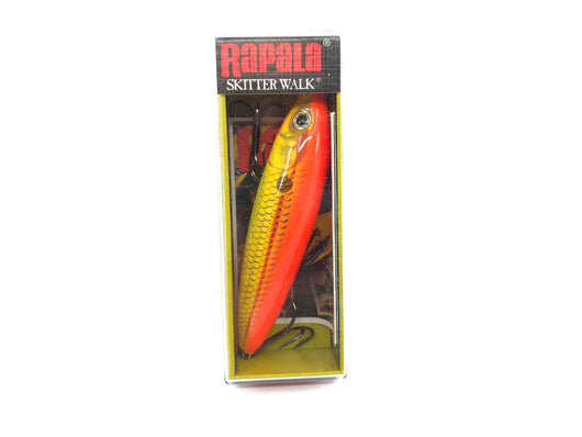 Rapala Skitter Walk SW-8 FSD Fire Shad Color New in Box Old Stock
