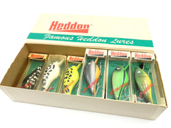 Heddon Big Hedd Dealer Box with 9 Baits New in Box