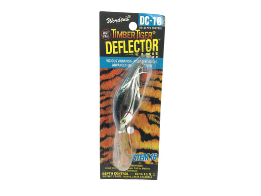 Worden Timber Tiger Deflector DC-16 Color 219 Metallic Silver Black Back