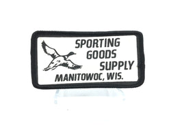 Sporting Goods Supply Manitowoc Wisconsin Patch