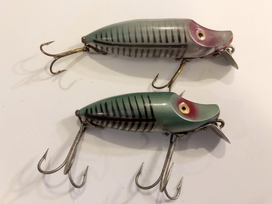 Heddon River Runts Green Shore Lot of Two