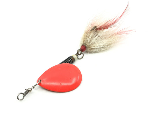 Orange Blade Musky Bucktail