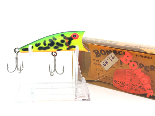 Bomber Popper Fluorescent with Matching Box