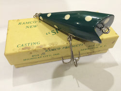 Ramco Speck Green / White Lure New in Box