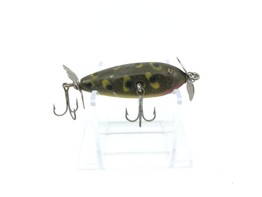 Creek Chub 9519 Spinning Injured Minnow Frog Color 9519