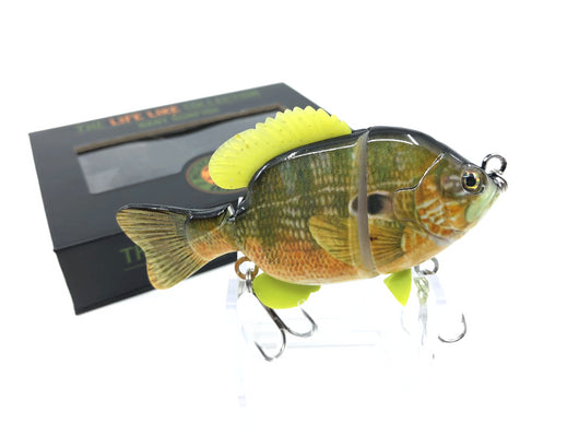 Mother Nature Lure Swimbait Baby Sunfish Series Green Sunfish Color New in Box