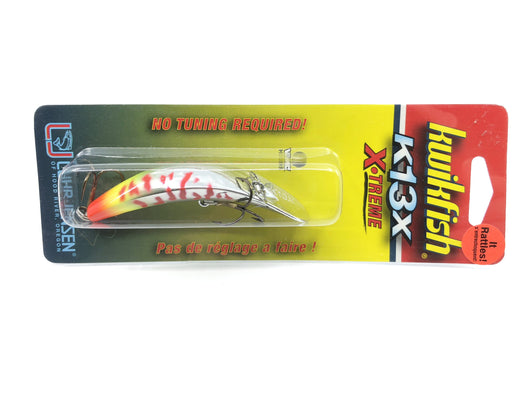Luhr-Jensen Kwikfish K13 X-Treme New on Card Flame Thrower Color