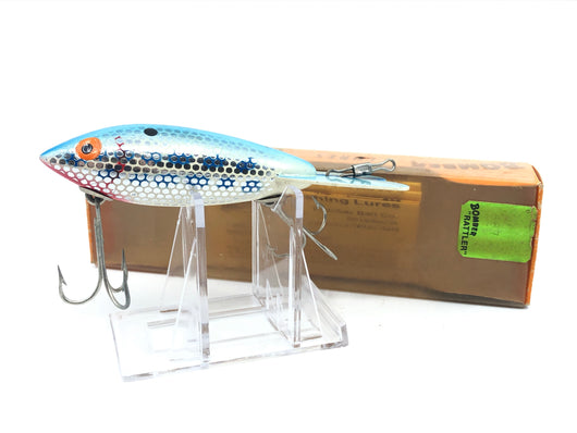 Bomber Rattler 687 Metascale Blue Back with Box