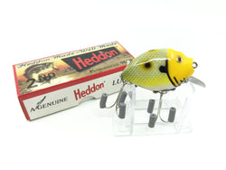 Heddon 9630 2nd Punkinseed X9630JYH Frog Yellow Head Color New in Box