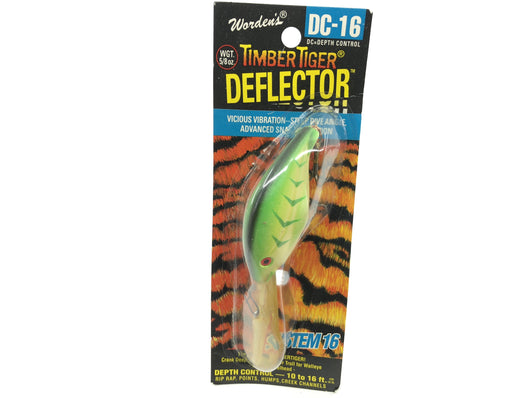 Worden Timber Tiger Deflector DC-16 Color 236 Lime Chartreuse Herringbone