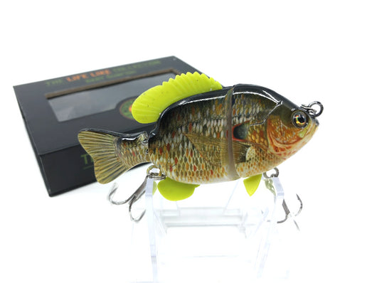Mother Nature Lure Swimbait Baby Sunfish Series Redear Sunfish Color New in Box
