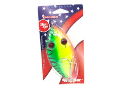 Eppinger Red Eye Wiggler Muskie 2.5 oz. Color 58 Fire Tiger New on Card
