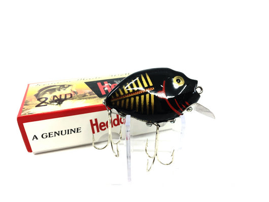 Heddon 9630 2nd Punkinseed X9630BKGBR Black & Gold Shore Color New in Box