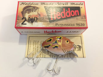 Heddon 9630 Punkinseed MFLF Meadow Luny Frog Color New in Box