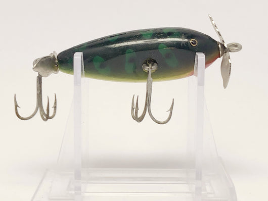 Creek Chub 9500 Spinning Injured Minnow Frog Color 9519