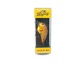 Bagley Kill'r B1 KB1 Square Bill KB1-CHC Chartreuse Crayfish Color New in Box OLD STOCK2