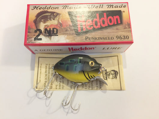 Heddon 9630 Punkinseed BF Bullfrog Color New in Box
