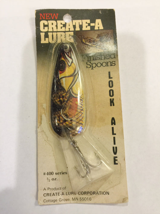 Create-A-Lure #400 Series Minnow new on card