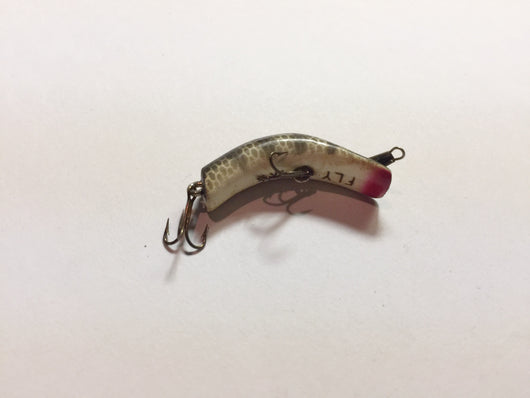 Fly Ike Black Scale Kautzky Antique Lure