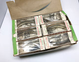 Helin SPECIAL Flatfish Dealer Box of 12 P8 SPL Silver Plated Color Lures in Box