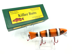 Rusty Jessee Killer Baits Trout Caster Model in Nemo Color 2019.