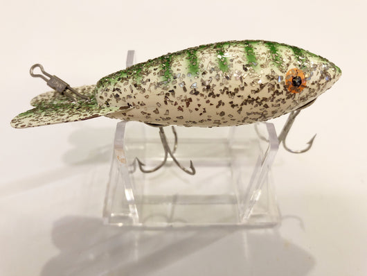 Bomber Wooden Lure in Christmas Tree Color