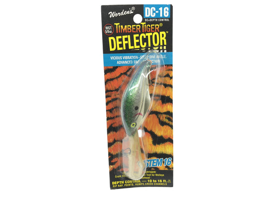 Worden Timber Tiger Deflector DC-16 Color 209 Tennesse Shad