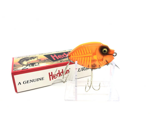 Heddon 9630 2nd Punkinseed X9630XOY Spook-Glow, Orange/Yellow Color New in Box