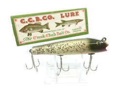 Creek Chub Midget Darter 2018 Silver Flash Color with Box