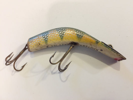 Kautzky Lazy Ike Perch Color Wooden Lure