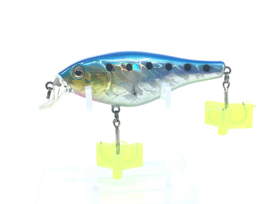 Crankbait Blue Pink and Yellow