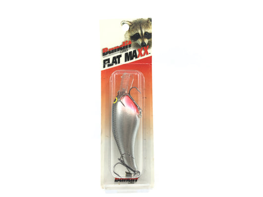 Bandit Flat Maxx Shallow Series Silver Minnow Sparkle Color FMS176 New on Card