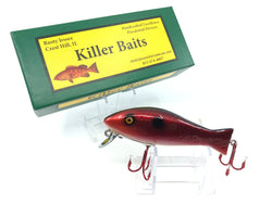 Rusty Jessee Killer Baits Bass Caster Model in Cranberry Scale Color 2019