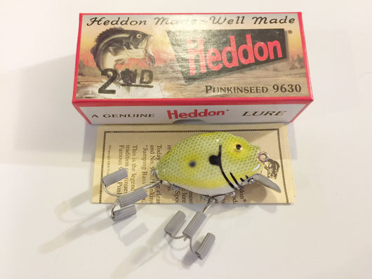 Heddon 9630 2nd Punkinseed J Frog Scale Shore Color New in Box