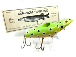 Chautauqua Special Order Wooden Magnum Jigger in Tree Frog Color