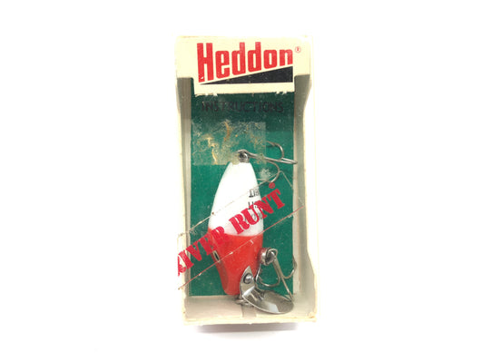 Heddon Midget Digit Runt 9020 RH Red Head White Body Color with Box