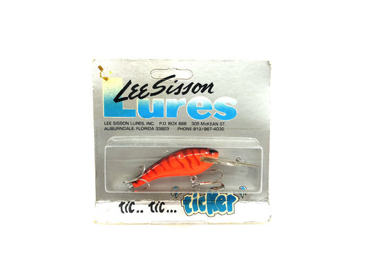 Lee Sisson Diving Little Ticker Orange Tiger Color New on Card