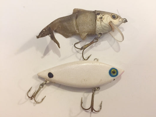 Two Lures One Price!  Swimbait and Rat-L-Trap