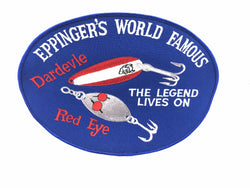 Eppinger World Famous Dardevle Red Eye Patch Huge Size
