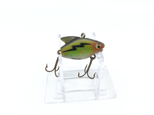 Heddon Sonic Great Color Green Scale
