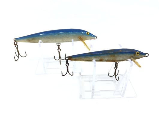 Lot of Two Blue Rapalas