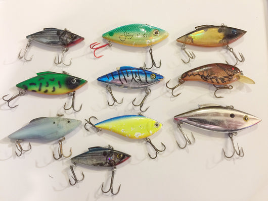 Rat-L-Trap / Spot Type Lures Lot of 10!