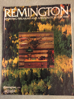 Remington 1981 Catalog