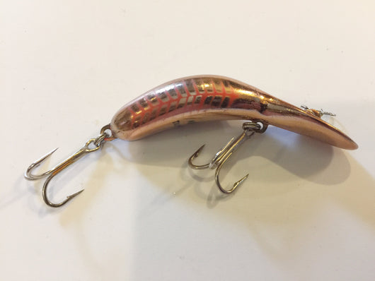 Heddon Tadpolly Clatter Orange Gold Stripes
