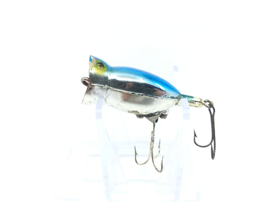 Arbogast Hula Popper Blue and Chrome