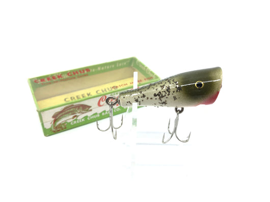 Creek Chub Spinning Plunker 9218 Silver Flash Color with Box New Old Stock