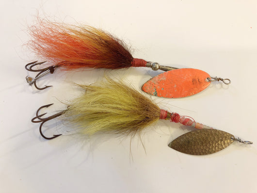 Musky Spinner lot of Two