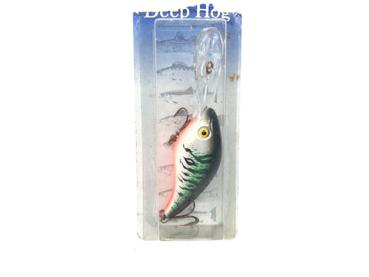 Mann's Deep Hog Lure New on Card Green Tiger Shad Color