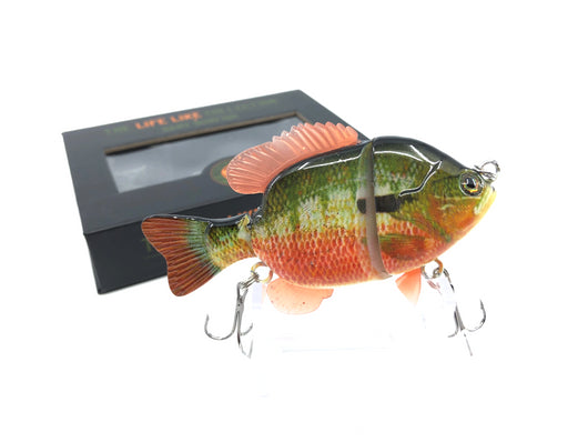 Mother Nature Lure Swimbait Baby Sunfish Series Redbreast Sunfish Color New in Box