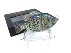 Mother Nature Lure Swimbait Baby Sunfish Series Black Crappie Color New in Box